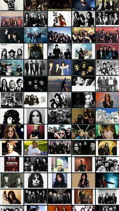 Rock Bands #iPhoneWallpaper