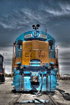 ....the train