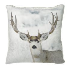 Urban Loft Animal Prints Deer Throw Pillow