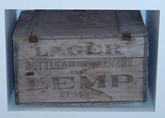 Lemp Brewery Crate