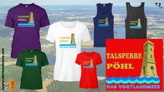 Erholung pur am vogtländischen Meer - der Talsperre Pöhl :https://shop.spreadshirt.de/shirtandfashion