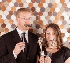 Oscar Party Photo Backdrop