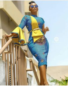 Hi ladies, celebrate the beauty of African fashion and tradition with these beautiful African dress styles. African Wear Styles For Men, African Dresses For Women, African Print Fashion, Africa Fashion, African Attire, African Fashion Dresses, Fashion Prints, African Clothes, Traditional Fashion