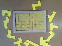 Raciocinio Preschool Math Games, Motor Activities, Kindergarten Math, Toddler Activities, Math For Kids, Games For Kids, Iq Puzzle, Montessori Materials, Math Classroom