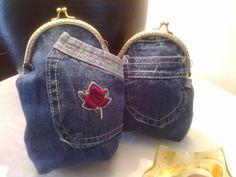Vaikka kirppikseltä lasten farkkuja ja niiden kauniita taskuja, ihan tälleen....