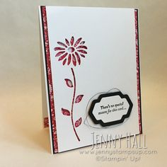 International Stampin' Up! Blog Highlight featuring Special Reason bundle project :: Jenny Hall
