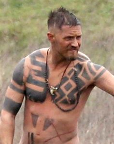 "Tom Hardy on the set of ""Taboo""   Edits from the pics published by ""The Sun"""