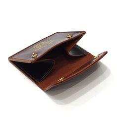 【THE SUPERIOR LABOR】cordovan coin case / BROWN