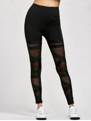 SHARE & Get it FREE | Mesh Insert LeggingsFor Fashion Lovers only:80,000+ Items • New Arrivals Daily • Affordable Casual to Chic for Every Occasion Join Sammydress: Get YOUR $50 NOW!