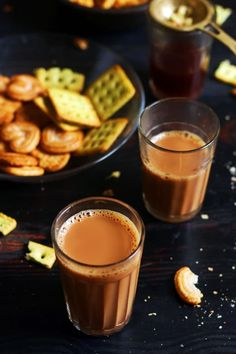 Milk Recipes, Indian Food Recipes, Sweet Recipes, Dessert Recipes, Cooking Recipes, Indian Ginger Tea Recipe, Chai Tea Recipe, Comida India, Kerala Food