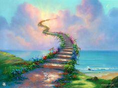 Stairway_to_Heaven  Like his art, is cool