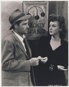 Tom Neal & Ann Savage in Detour (1945)