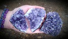Lavender Amethyst Clusters