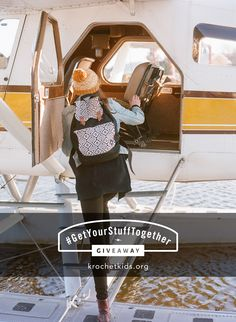 Oh, the places you'll go with 'the Brooklyn'...  Weekly Contest: Repin to Win Prize Pack #3 of Krochet Kids intl. #GetYourStuffTogether #Giveaway. Repin by 7/30.  ENTER MAIN #CONTEST HERE: http://www.krochetkids.org/getyourstufftogether/