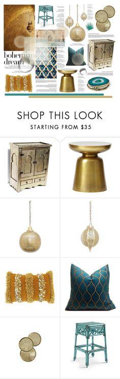 """Bohemian Dream: Moroccan Decor"" by krischigo on Polyvore featuring interior, interiors, interior design, home, home decor, interior decorating, West Elm, Margaritaville, Louis Vuitton and moroccandecor"