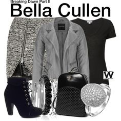 Inspired by Kristen Stewart as Bella Cullen in the Twilight film franchise. Twilight Outfits, Bella Cullen, Edward Cullen, Twilight Saga Series, Twilight Movie, Movie Inspired Outfits, Bouchra Jarrar, Twilight Photos, Bella Swan