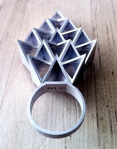 TheCarrotbox.com modern jewellery blog : obsessed with rings // feed your fingers!: Fathom and Form