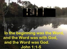 GOD Morning from Trinity, TX Today is Friday10-22-2021 Day 295 in the 2021 Journey Make It A Great Day, Everyday! Before Time Began The Word was with God, Today's Scriptures: John 1:1-5 In the beginning was the Word, and the Word was with God, and the Word was God. He was in the beginning with God. All things were made through Him, and without Him nothing was made that was made. In Him was life, and the life was the light of men. And the light shines in the darkness,...