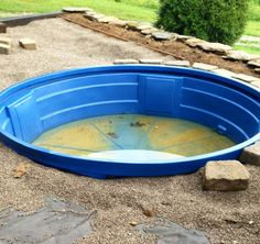More progress on the DIY pool.