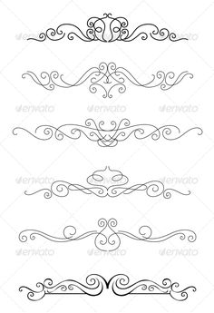 Borders and Dividers #GraphicRiver Borders and dividers set with calligraphy elements for design. Editable EPS8 (you can use any of your vector program) and JPEG (can edit in any graphic editor) files are included SPORTS MASCOTS MEDICINE FOOD LABELS WEDDING DESIGN ELEMENTS FLORAL OBJECTS WEB ICONS ANIMALS Created: 8May13 GraphicsFilesIncluded: JPGImage #VectorEPS Layered: No MinimumAdobeCSVersion: CS Tags: border #calligraphic #calligraphy #card #certificate #classic #decoration #decorative…