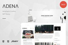ADENA - Amazing Blog WP Theme by unCommons on @creativemarket