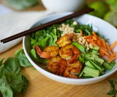 Shrimp Noodle Bowl Recipe   BeachbodyBlog.com