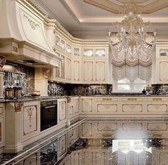 Enhance Your Senses With Luxury Home Decor Kitchen Sets, Home Decor Kitchen, Kitchen Furniture, Kitchen Interior, Nice Kitchen, Room Interior, Elegant Kitchens, Luxury Kitchens, Beautiful Kitchens