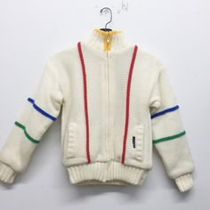"Members Only ""Mondrian"" Sweater"