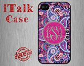 PLEASE visit our shop for more Designs: www.etsy.com/shop/italkcase  MODEL COMPATIBILITY: Fits ALL Versions of iPhone 4/4S ( AT&T, Verizon, Sprint, International) ACCESS: Full access to all functions (buttons, ports, front and rear camera, and flash)