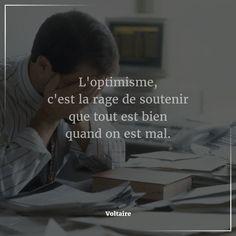 """awesome Citation - #Citation du jour : #Attitude & #Pensée #Positive. """"L'optimisme, c... Check more at https://listspirit.com/citation-citation-du-jour-attitude-pensee-positive-loptimisme-c/"""