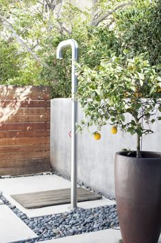 30 Outdoor Spaces We Want to Spend All Summer In - Contemporary outdoor shower: www.stylemepretty… The Effective Pictures We Offer You About garden -