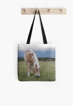 Palomino Horse Tote Bag ~ Light Brown Horse Photo ~ Horse Gift for Girl, Western Riding Tote Bag, Rural Country Accessory, Blond Mane Western Riding, Horse Gifts, Brown Horse, Horse Photos, Palomino, Custom Bags, Gifts For Girls, Wall Tapestry, Original Artwork