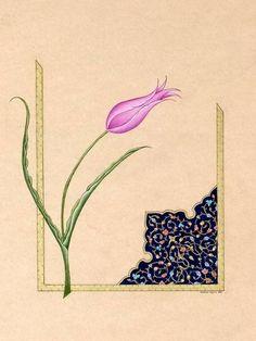 Nurten Poyraz - Lale Motifli