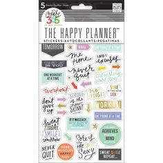 Fitness Sticker • Create 365 Planner Stickers 5 Sheets/Pkg