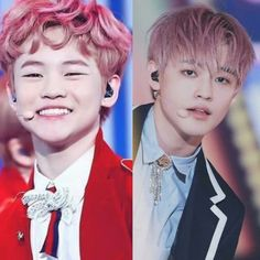The difference in less than one year. It's crazy. K Pop, Nct Dream Chenle, Nct Chenle, Hot Asian Men, Jeno Nct, Nct Taeyong, Jaehyun, Beautiful Boys, Nct 127