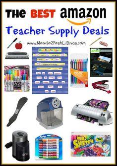 I heart Amazon!! The best Amazon teacher supply deals.