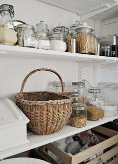 pantry - looks like Granny's larder in Scotland !!!