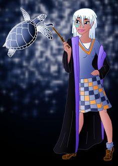 Disney Hogwarts students: Kida by Willemijn1991.deviantart.com on @deviantART