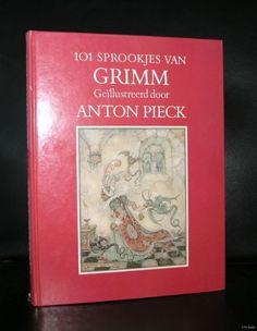 Anton Pieck # 101 SPROOKJES VAN GRIMM # Fairy Tales, dutch, 1984, nm+