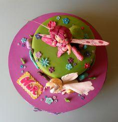 Nur cumple 6 añitos, y su serie favorita es Mia and Me,   una serie de animación de un mundo de fantasía donde aparecen   faunos, elfos, ... I Party, Party Cakes, Birthday Cake, Pudding, Desserts, Food, Party, World, Cake Party