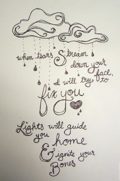 I will make posters with song lyrics to add to your photo wall