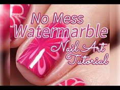 Radial Gradient Tutorial ~ Pretty Pink Nail Art - YouTube