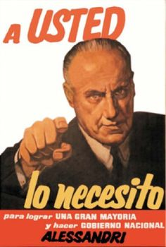 Jorge Alessandri, campaña presidencial 1958 Political Posters, The Past, Politics, Shit Happens, Marketing, Celebs, Retro, Twitter, Photos