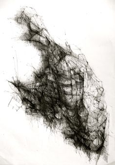 "Saatchi Online Artist: Cezary Barnaba Gruzewski; Pen and Ink, 2012, Drawing ""Drawing 77"""