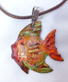 pececito fondo marino.  Handmade by Ana Andras.com