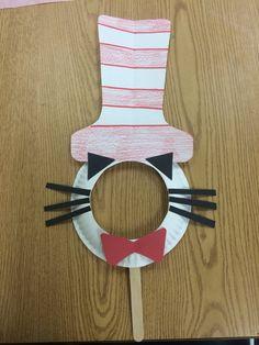 Dr. Seuss mask! #littlehandsbigplans