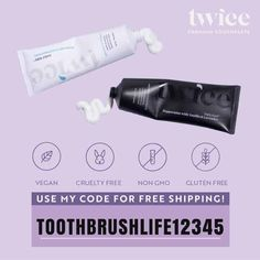 twice toothpaste promo code Top Dental, Oral Health, Health Tips, Healthy Toothpaste, Causes Of Bad Breath, Tooth Sensitivity, How To Prevent Cavities, Dental Hygienist