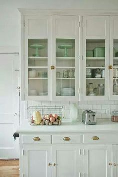 Wall cabinets. An alternative if we decide not to have glass right up to the ceiling
