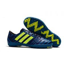 Officiel Chaussures de foot en salle homme Adidas Messi Nemeziz 17.1 TF  Bleu. 0b235530d44b