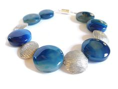 Into the Blue!!  by Dave and Milena Jewel-Makers on Etsy